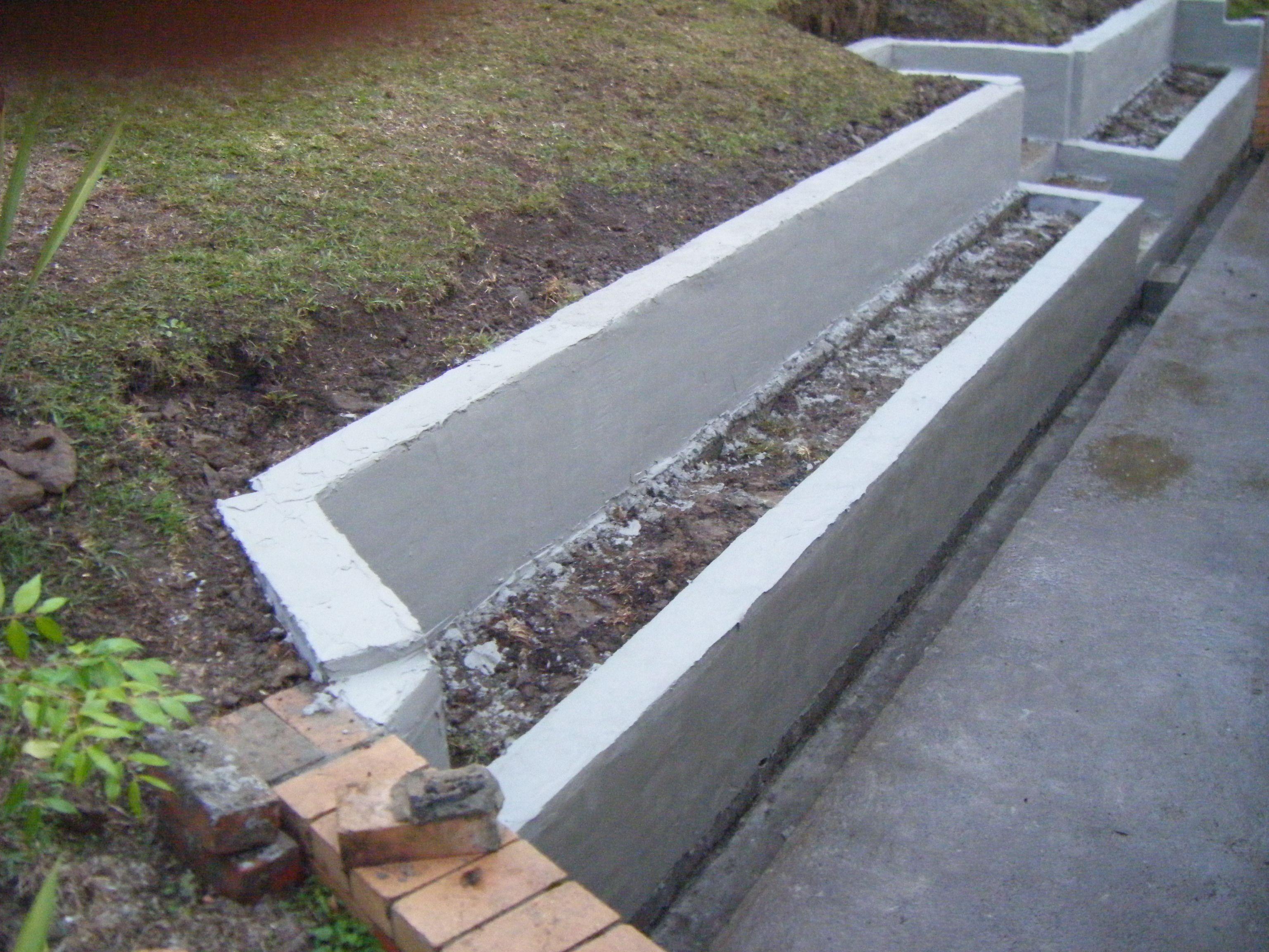 Rendered Retaining Walls