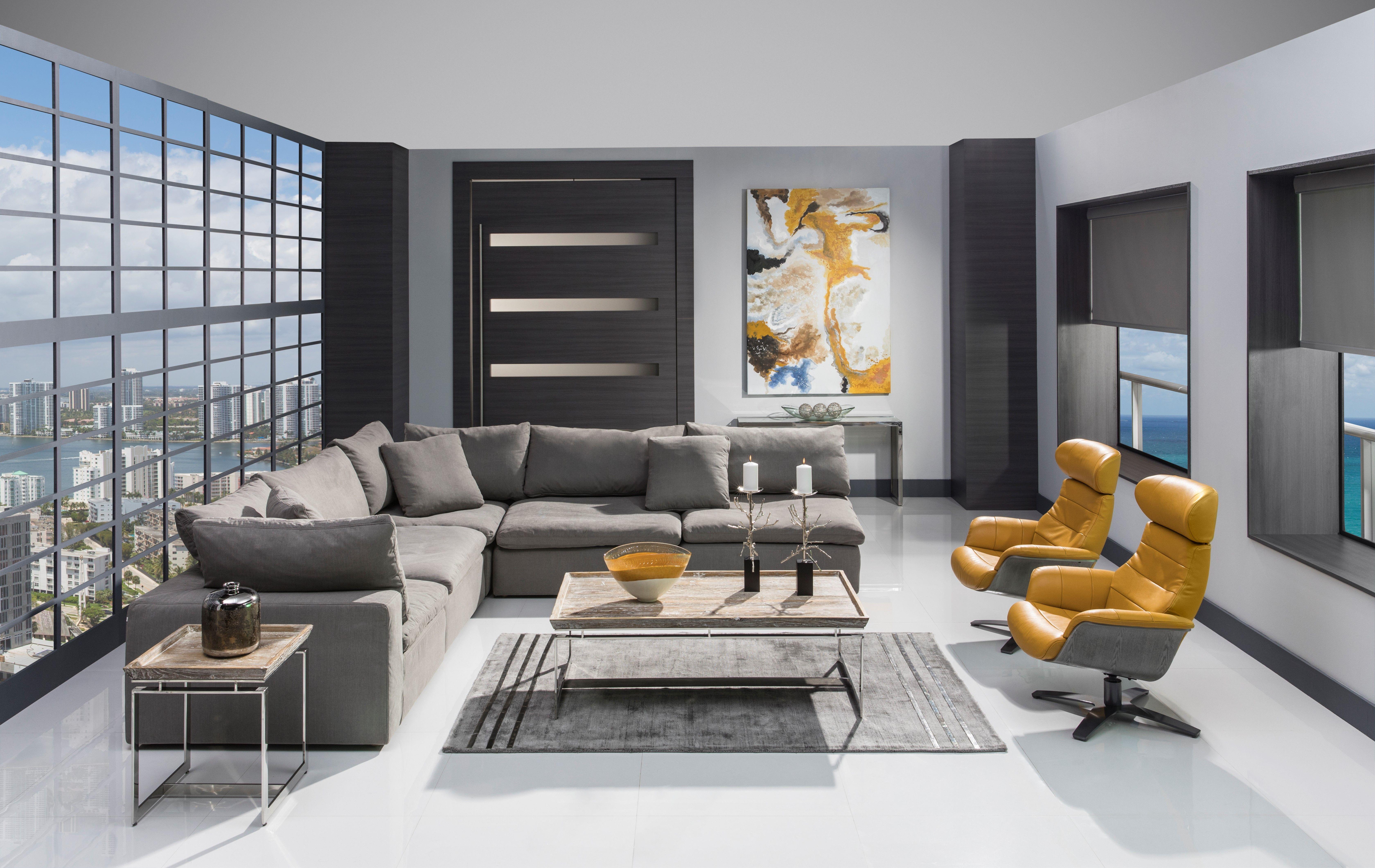 Nube Ii Gray Sofa Living Room Pieces Gray Sofa Sofa