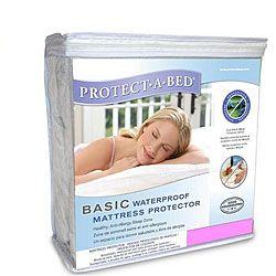 Protect A Bed Basic Waterproof Mattress Protector Mattress Covers Mattress Mattress Protector