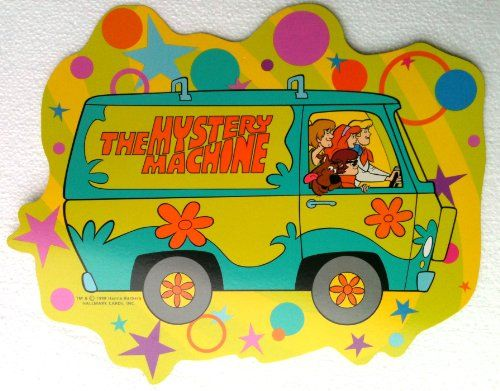 SCOOBY DOO Hanging Party Decoration or Wall Decor THE MYSTERY ...