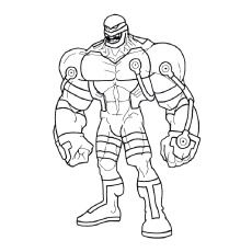 bane from batman coloring pages - photo#26