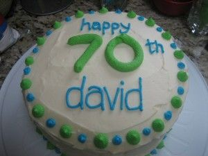 Birthday Cake 70 Year Old Man