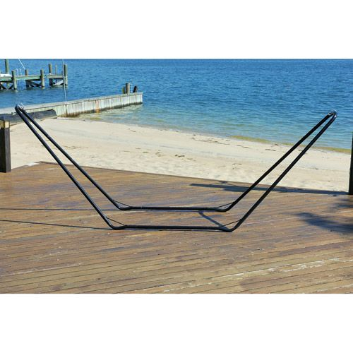 Bliss Hammock Stand 10 Ft Steel Walmart Com In 2020 Hammock Stand Hammock Backyard Patio