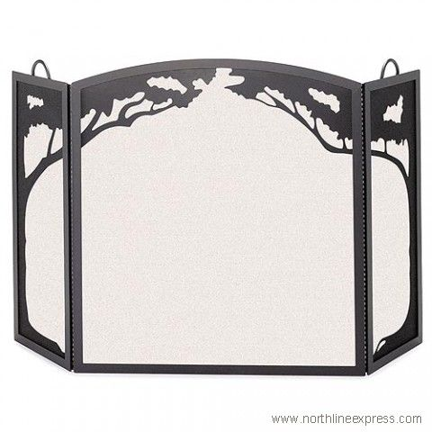 Pewter Pilgrim Home and Hearth 19237 Napa Forge Kentfield Screen