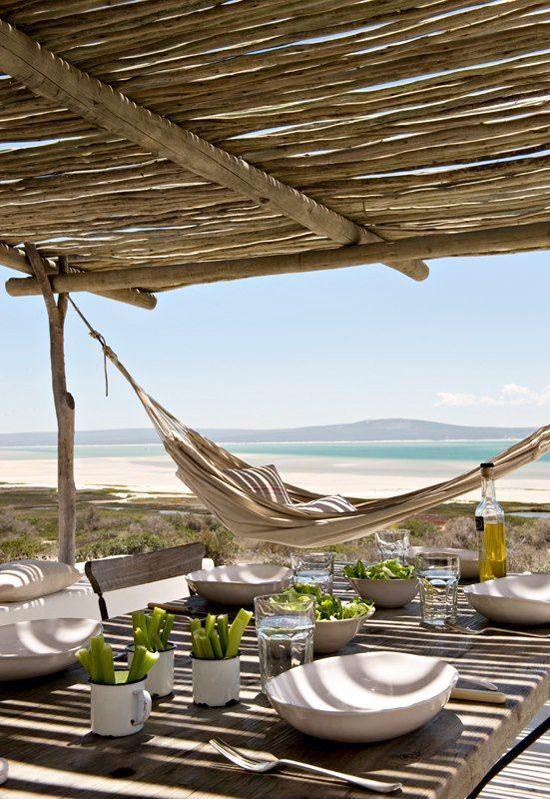 Outdoor dinning of an ocean villa. #travel #relaxing #modern #decor #beach #mexi...#beach #decor #dinning #mexi #modern #ocean #outdoor #relaxing #travel #villa