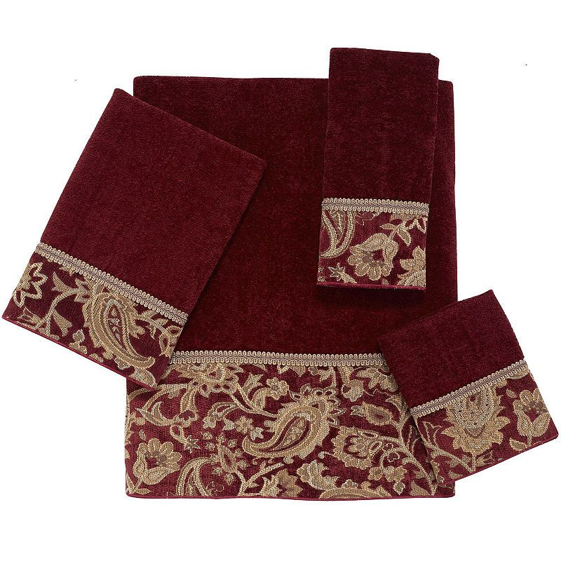 Avanti Arabesque Bath Towels With Images Towel Set Cotton