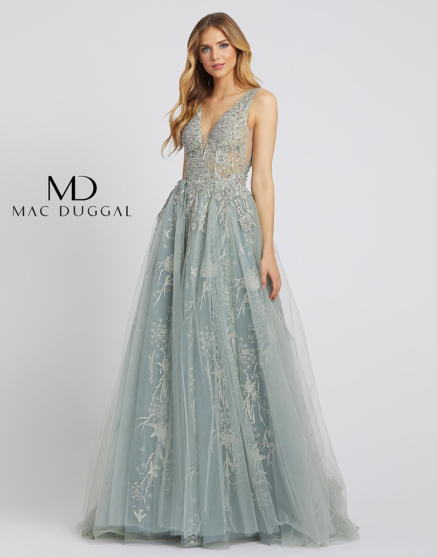 20220d mac duggal evening dress couture evening dress