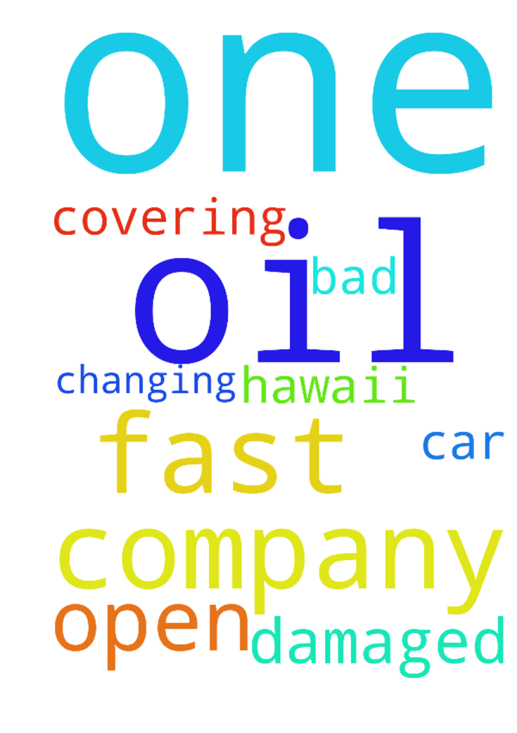 We pray that some one open a fast oil - We pray that some one open a fast oil changing company in Hawaii the one that damaged my car that company is bad some one was covering up help Posted at: https://prayerrequest.com/t/lbc #pray #prayer #request #prayerrequest