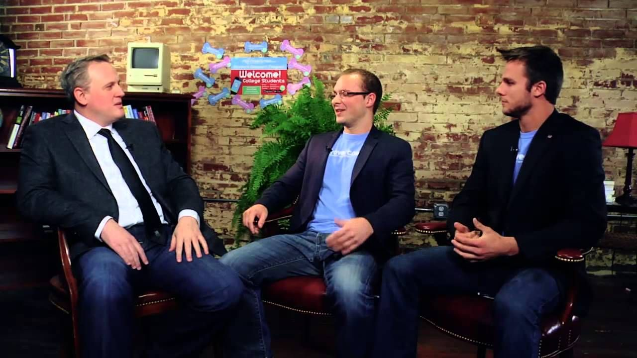 Mike & Jeffry talk about all things #RoverTown!  #Startup #STL #Studentdiscounts #App