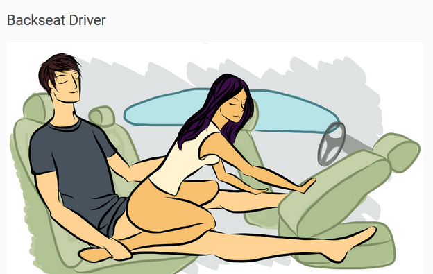 Back Seat Driver Sex Position