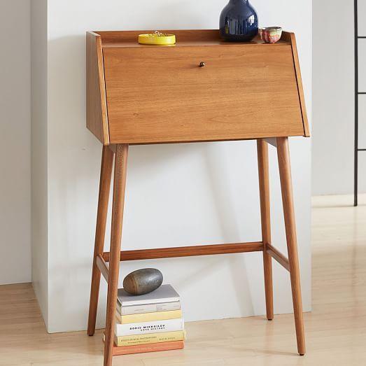 Mid Century Mini Secretary Mid Century Mini Desk 60s Furniture