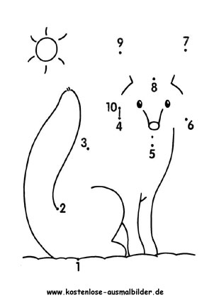 Malen Nach Zahlen Zahlenbild Malen Nach Zahlen Kinder Malen Nach Zahlen Vorschulideen