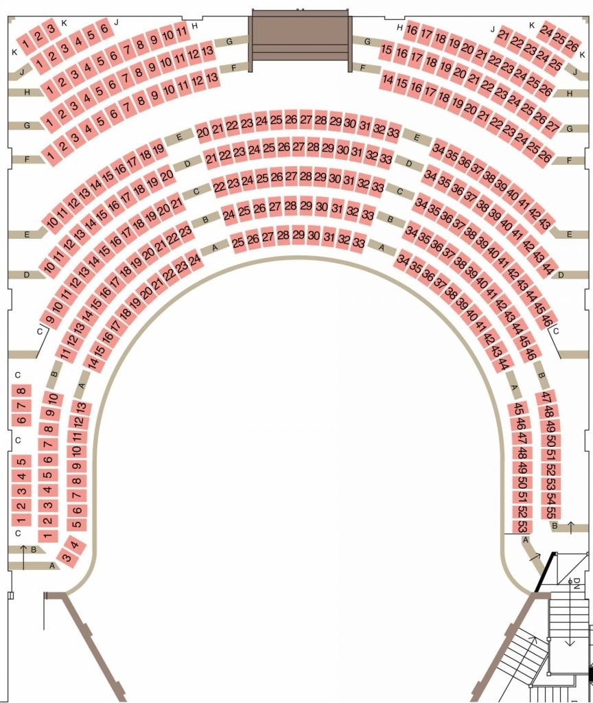 The Awesome Princess Theatre Melbourne Seating Plan