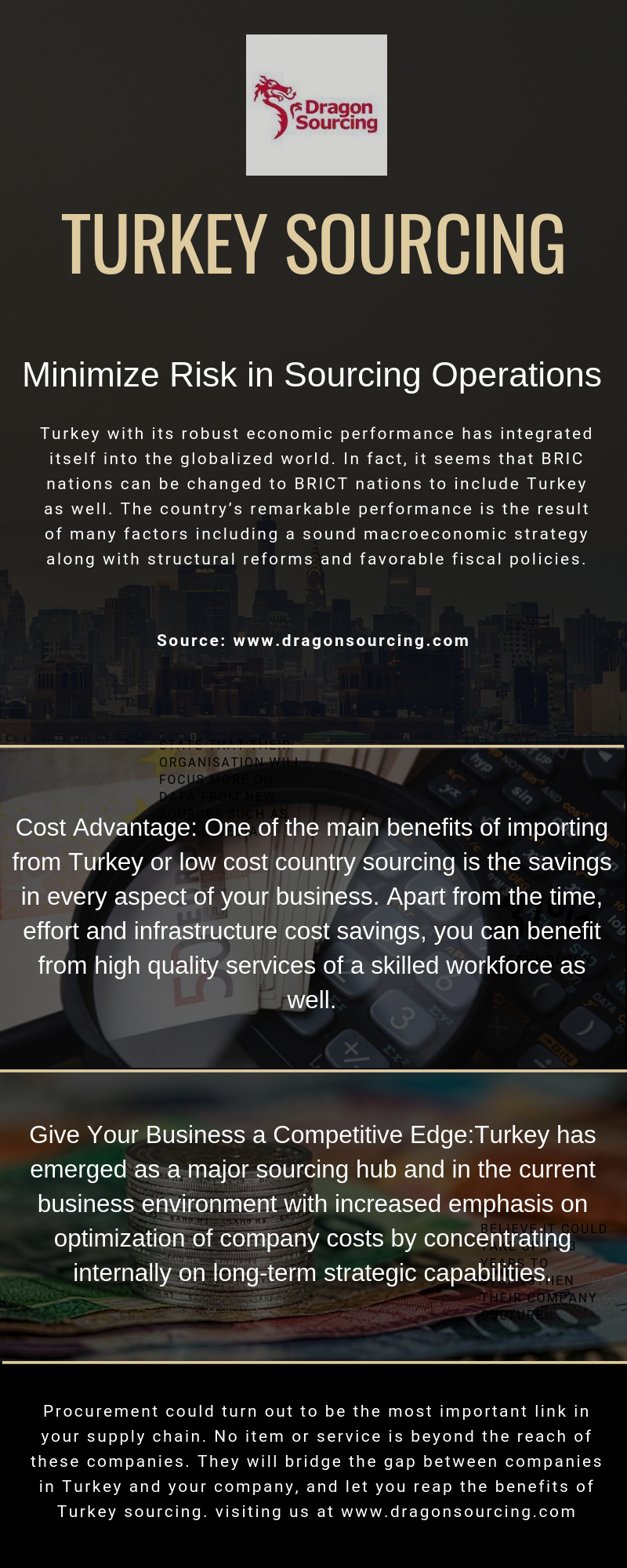 Advantages of Turkey Sourcing | Dragon Sourcing Limited