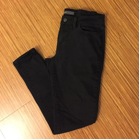 Levi's Black Legging Jeans Levis black denim leggings.  Size 29x32.  Good condition.  98% cotton/2% elastane. Levi's Jeans Skinny