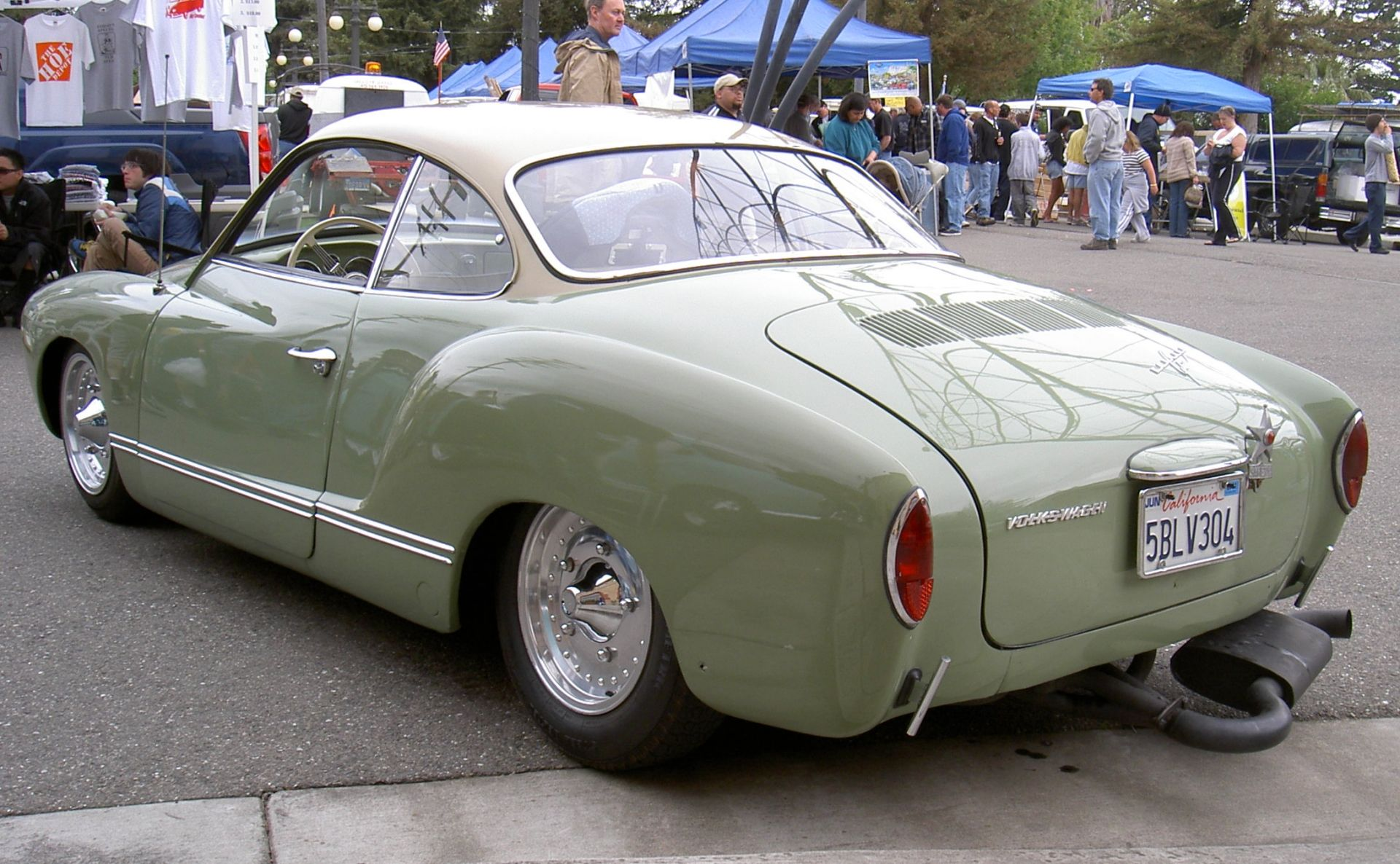 Special cars: Volkswagen Karmann Ghia Custom | VW ...