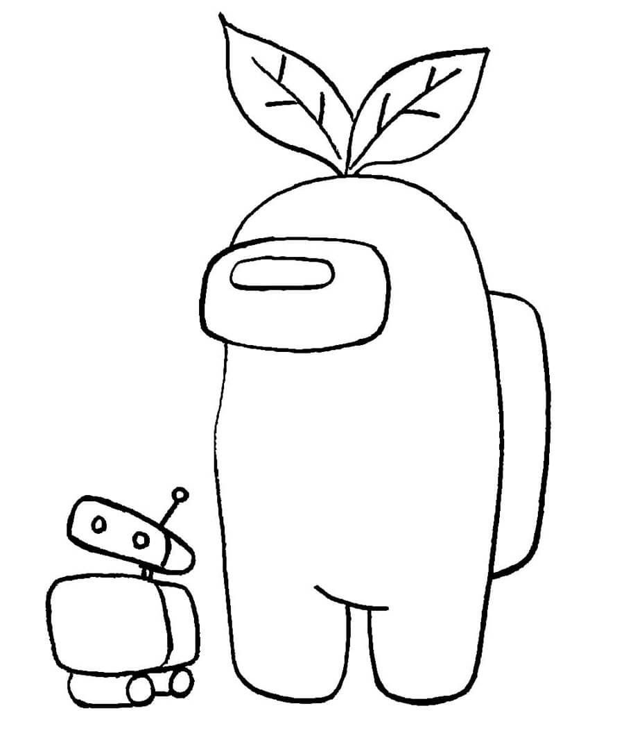 37++ Realistic among us coloring pages info