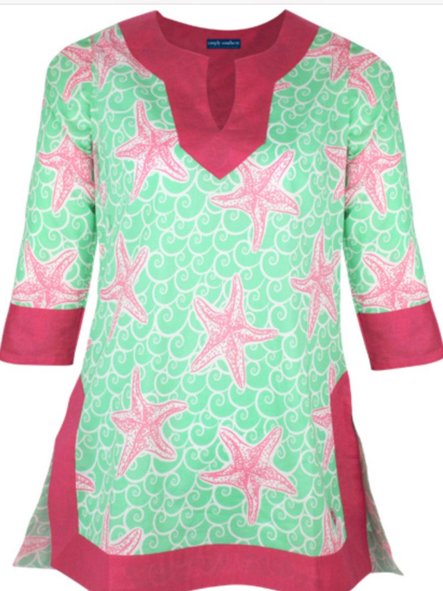 03ce89a61f5 Simply Southern Tunic Star | shirts | Tunic tops, Cotton tunics, Tunic