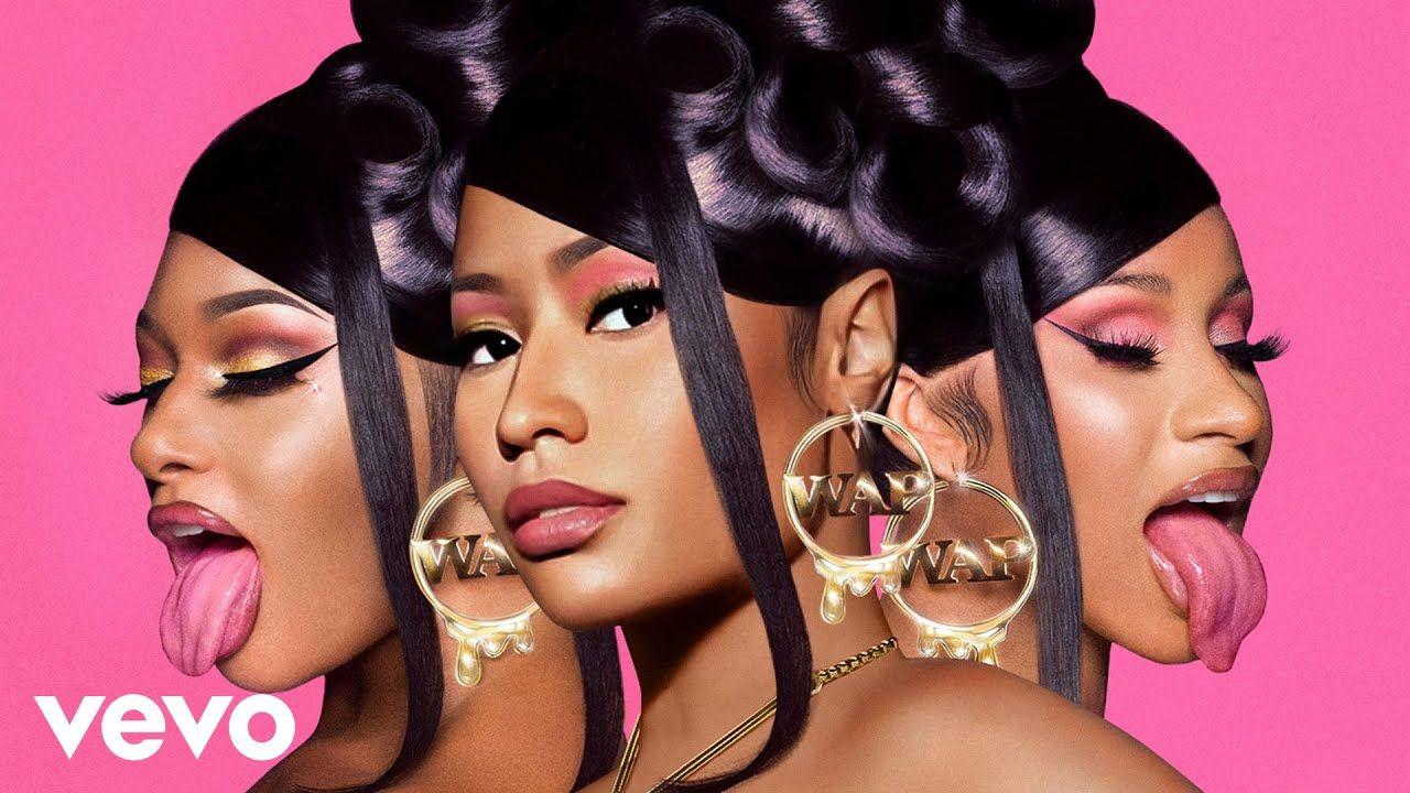Cardi B Megan Thee Stallion Nicki Minaj Wap Mashup Youtube Nicki Minaj Cardi B Nicki Minaj Wallpaper