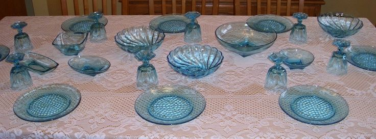 Gillinder Glass Store   Hazelware Capri Glass capri-glass.jpg (3648×1354)