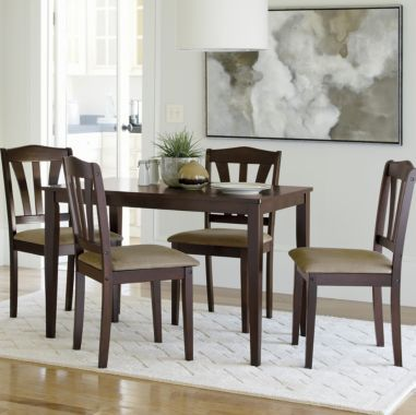 Mansfield 5 Pc Dining Set Found At Jcpenney Dining Espresso Dining Tables Home Decor