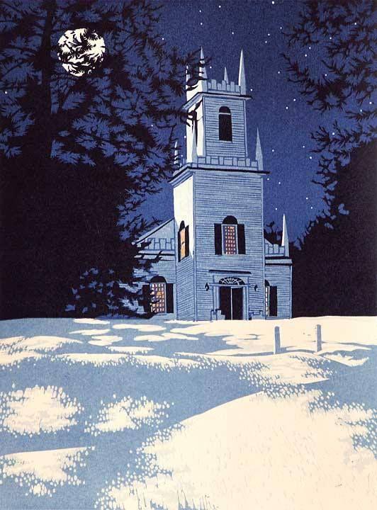 """Guilford Night"", William Hays"