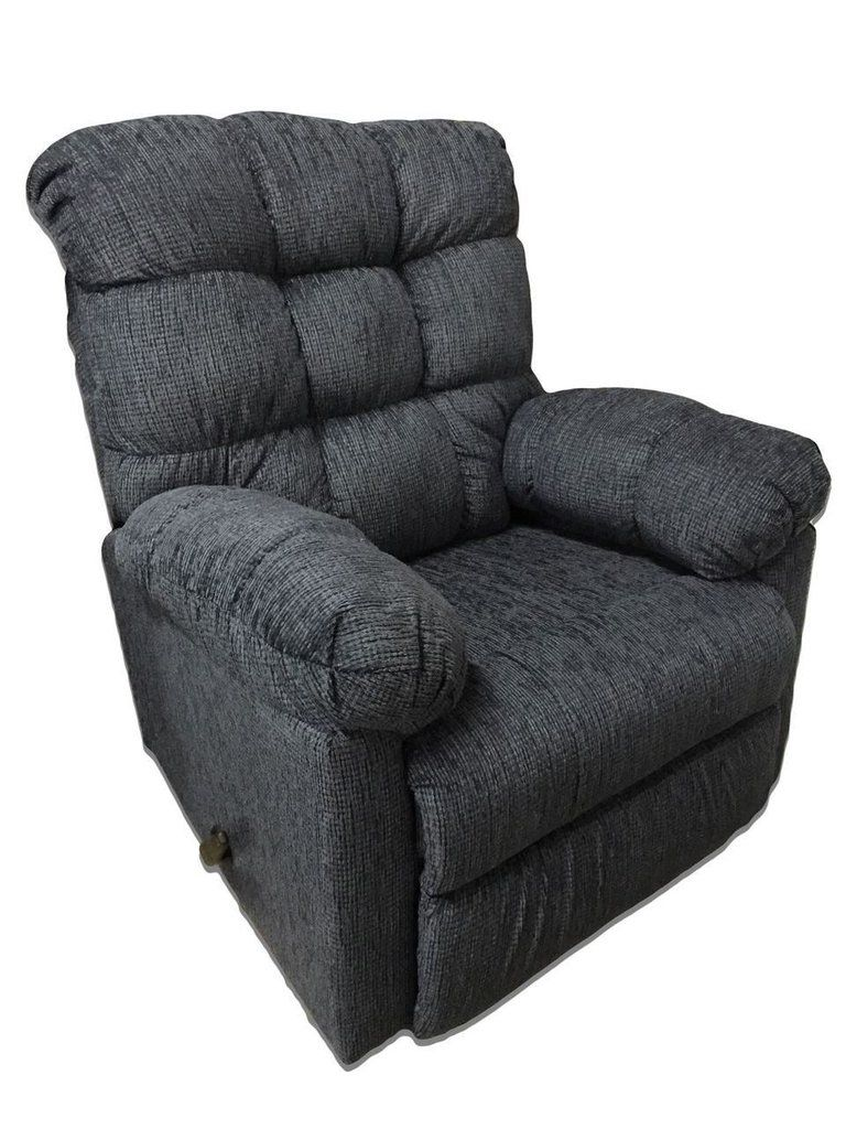 Radar Blue Rocking Recliner By Serta Upholstery My Furniture Place