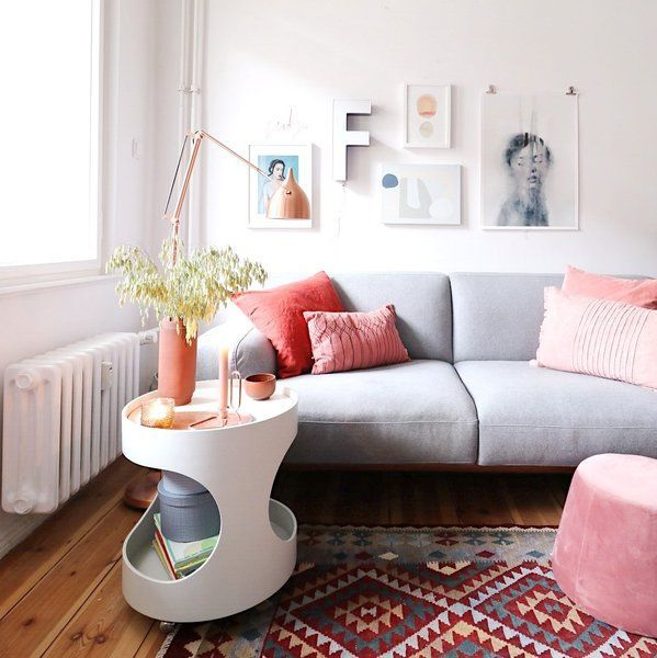 Spätsommerliebe daheim Schönste Accessoires und Möbel in warmen - wohnzimmer rot orange