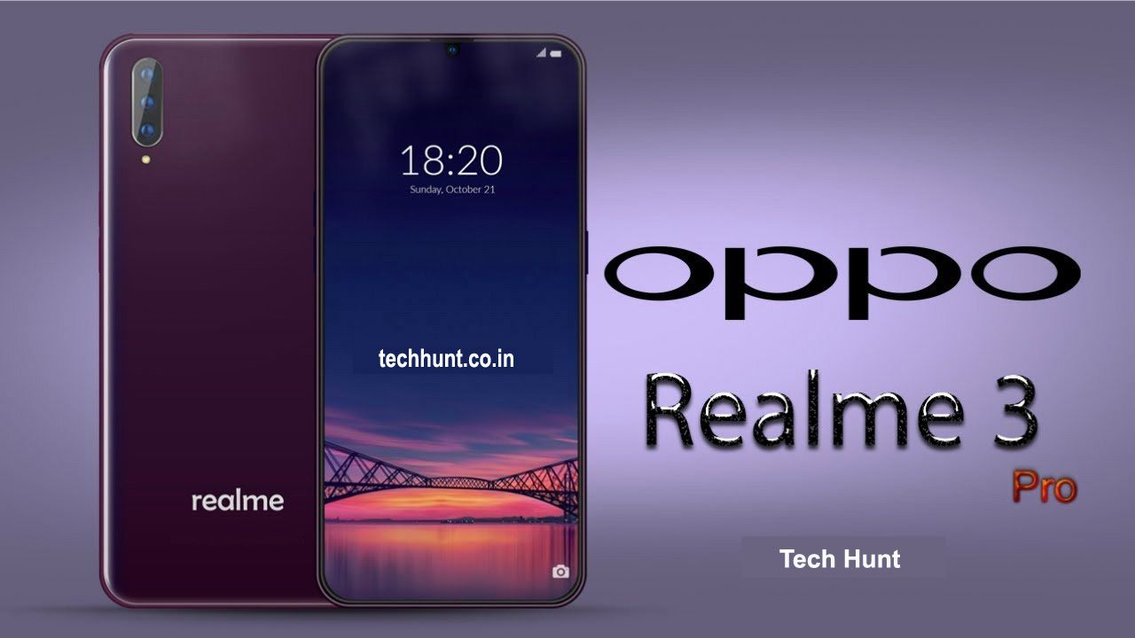 It is been maintained that Realme 3 Pro will include Sony IMX519