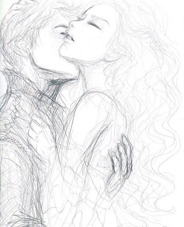 Рисунки влюбленных пар