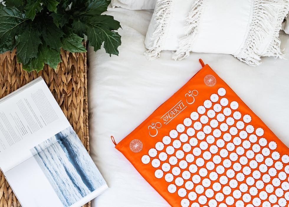 Shakti Acupressure Pillow Orange