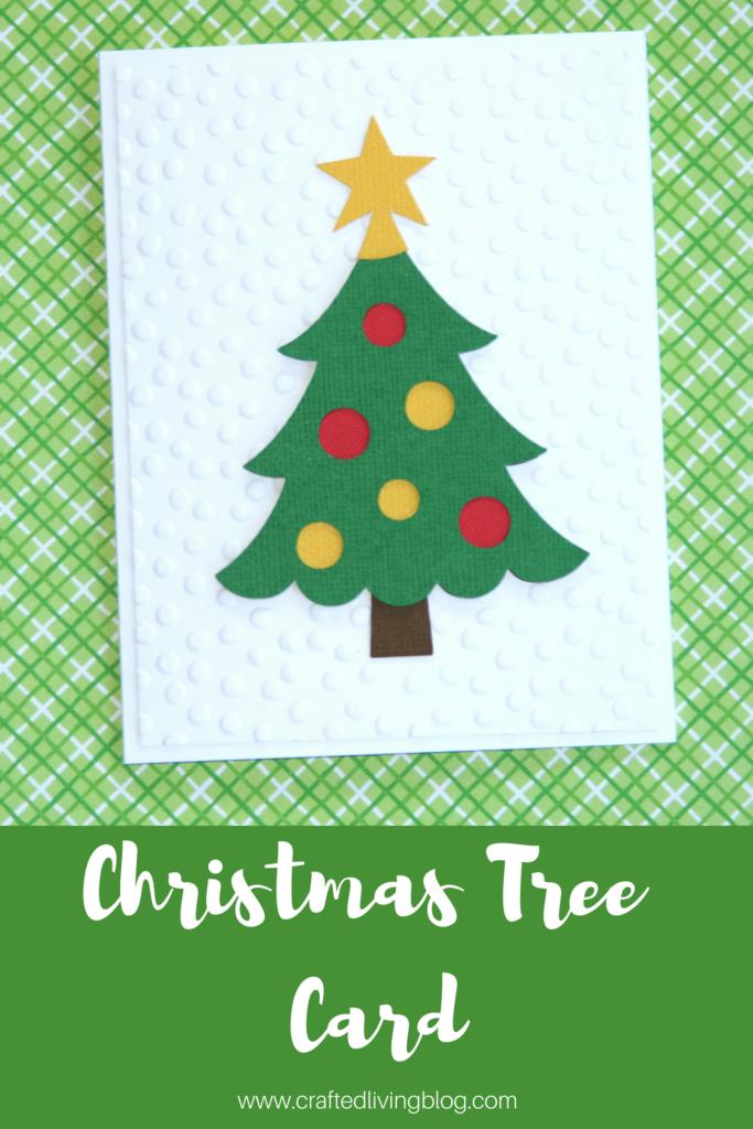 Christmas Tree Card Christmas Tree Cards Simple Christmas Cards Beautiful Handmade Cards