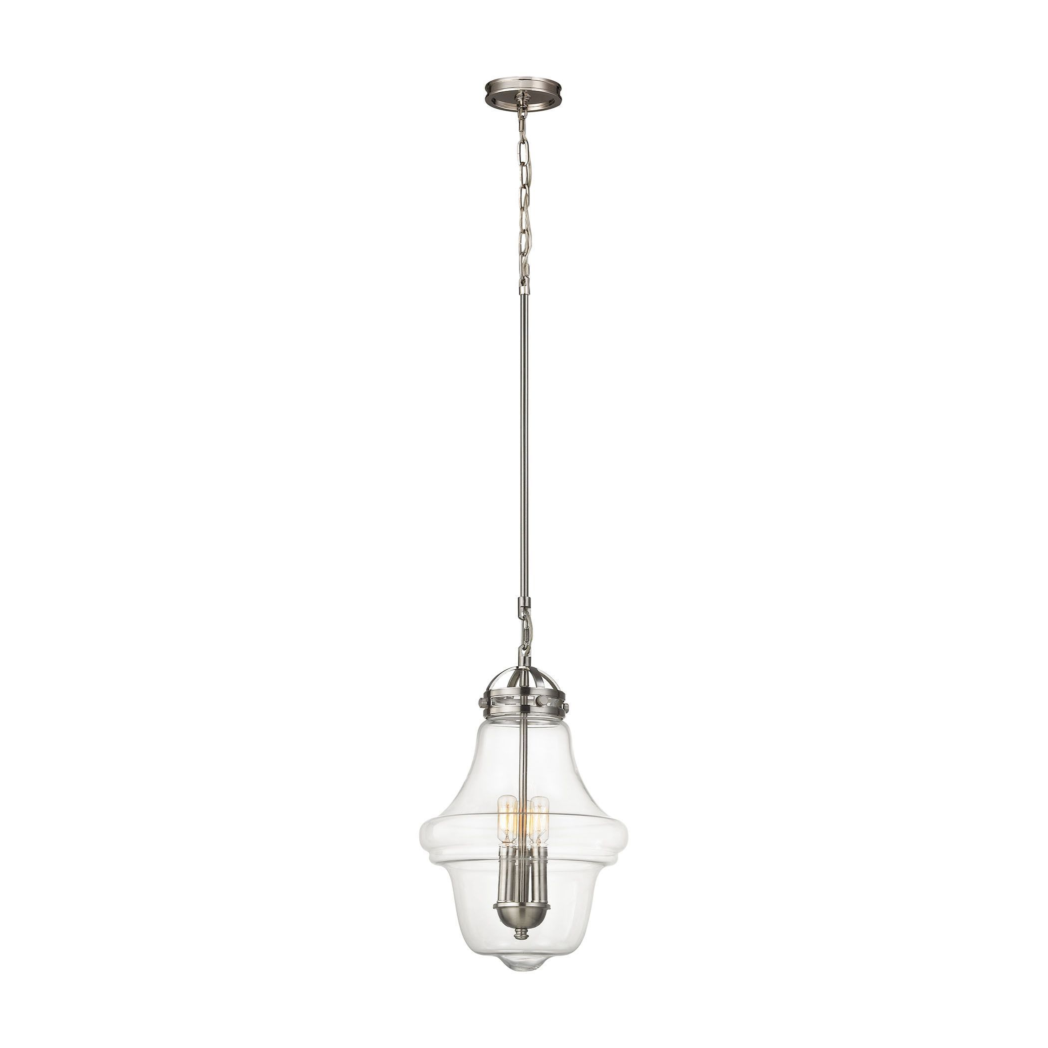 Gramercy light pendant in satin nickel products