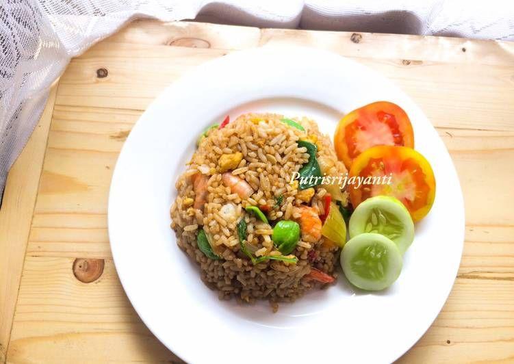 Resep Nasi Goreng Udang Pete Oleh Putri Sri Jayanti Resep Nasi Goreng Masakan Nutrisi