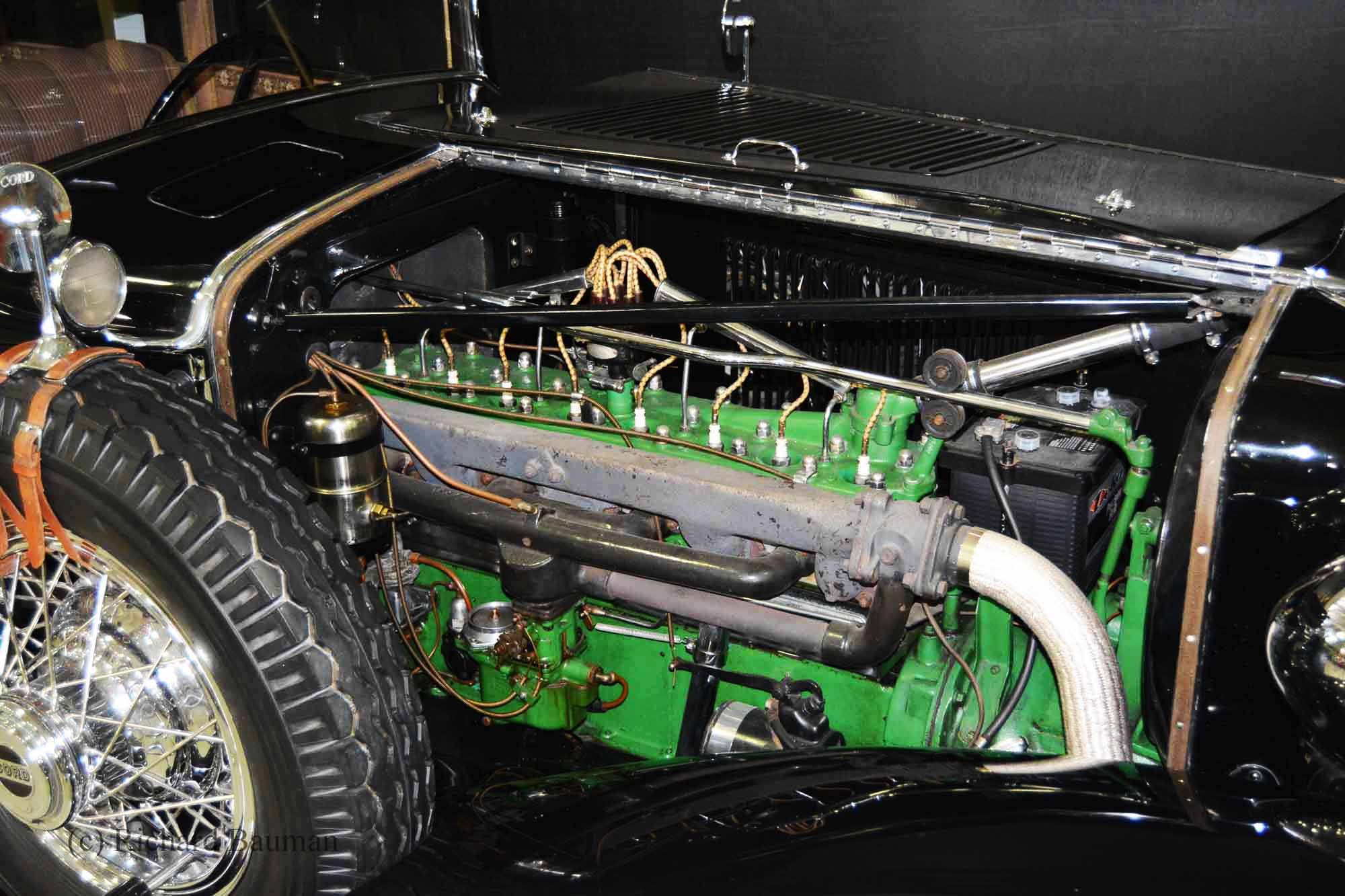 1929 Cord Brougham inline 8 cylinder engine | Cars by Others