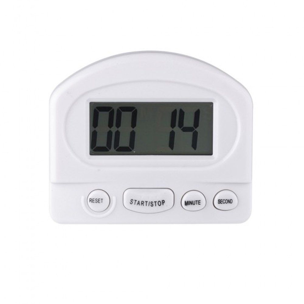 Mini LCD Digital Count Down / Up Kitchen Timer with Magnetic Clip ...
