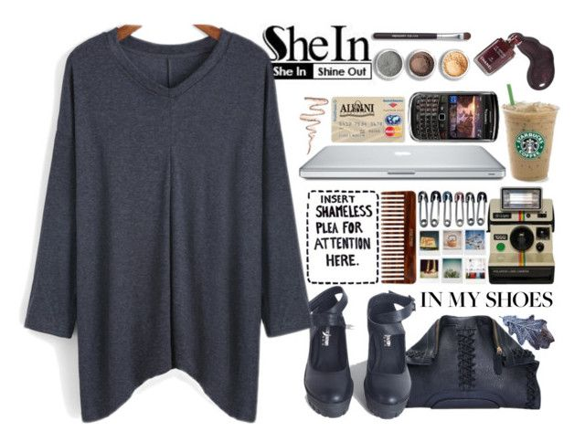 """""""SheIn 3"""" by selmagorath ❤ liked on Polyvore featuring мода, Chanel и Bare Escentuals"""