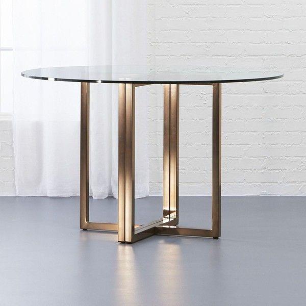 Best Cb2 Silverado Brass 47 Round Dining Table 490 Aud Liked 400 x 300