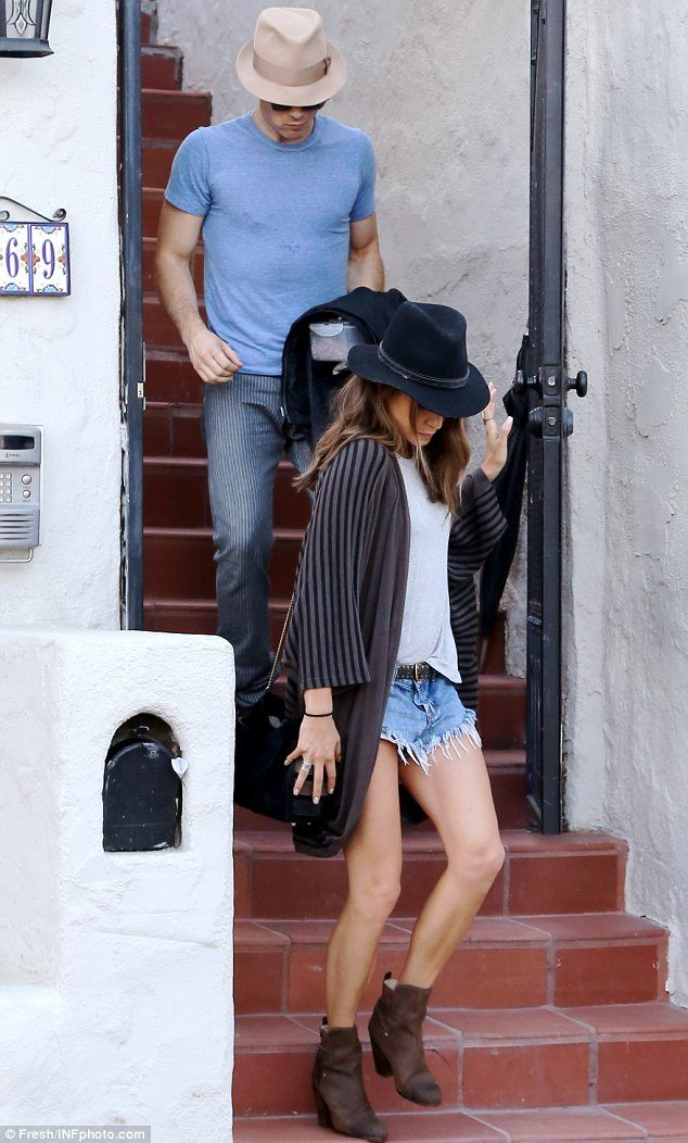 Inseparable: The pair headed back to Nikki's place and were seen leaving it a bit later af...