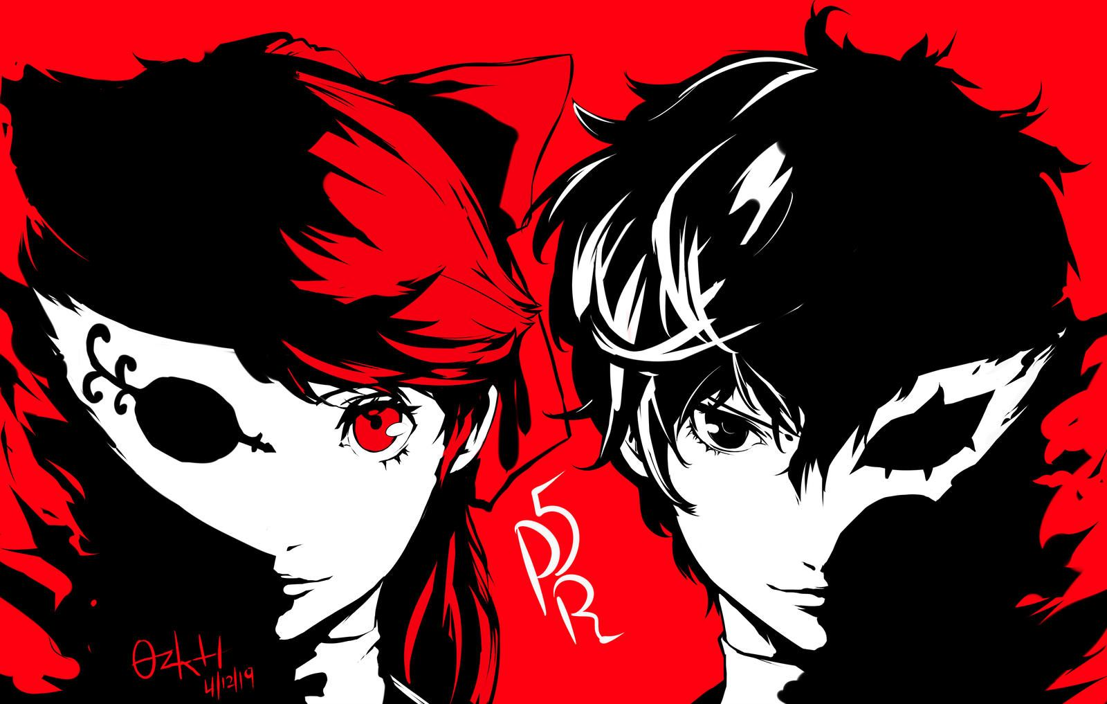 Persona 5 The Royal by ozkh Persona 5 joker, Persona