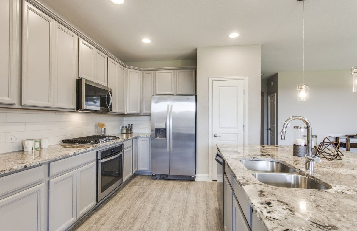 Pulte Dayton Floor Plan Open Kitchen With Your Choice Of Granite Or Quartz Countertops Pulte Homes Pulte Kitchen