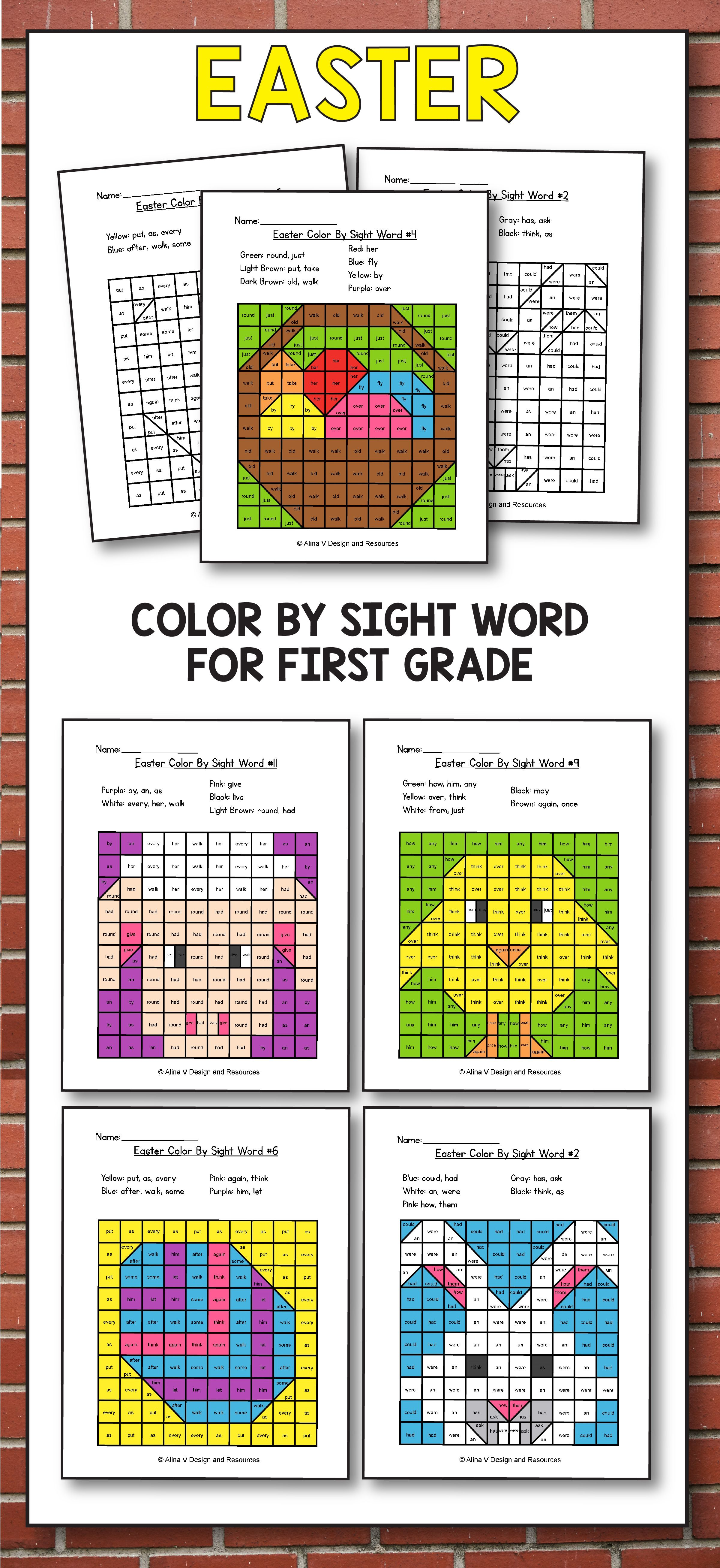 Easter activities for st grade easter coloring pages school