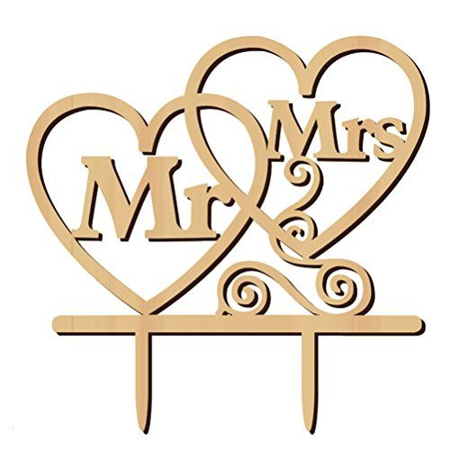 Best Mr And Mrs Questions: Tinksky Mr Mrs Cake Topper Heart Shape Wedding Cake Topper