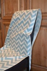 Parsons Chair Slipcover Tutorial How To Make A Parsons Chair