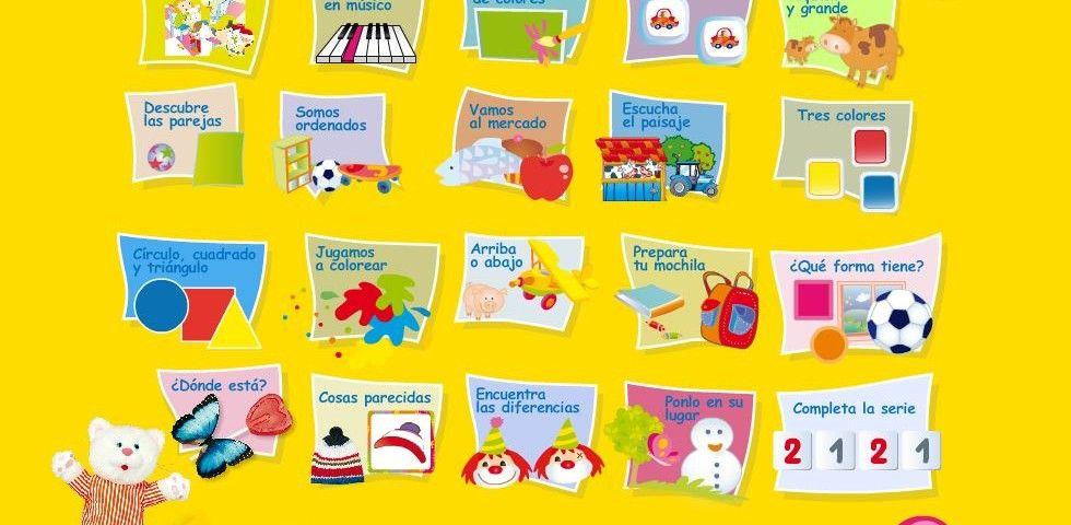 Mas De 20 Juegos Interactivos Educativos Para Ninos De 3 Anos Haz