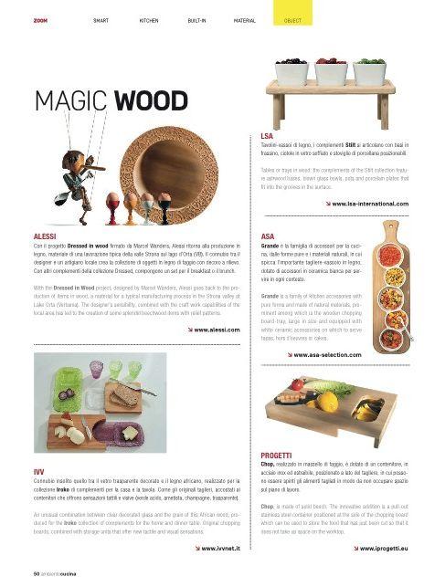 Ambiente Cucina - aprile - Chop design Progetti - www.iprogetti.eu