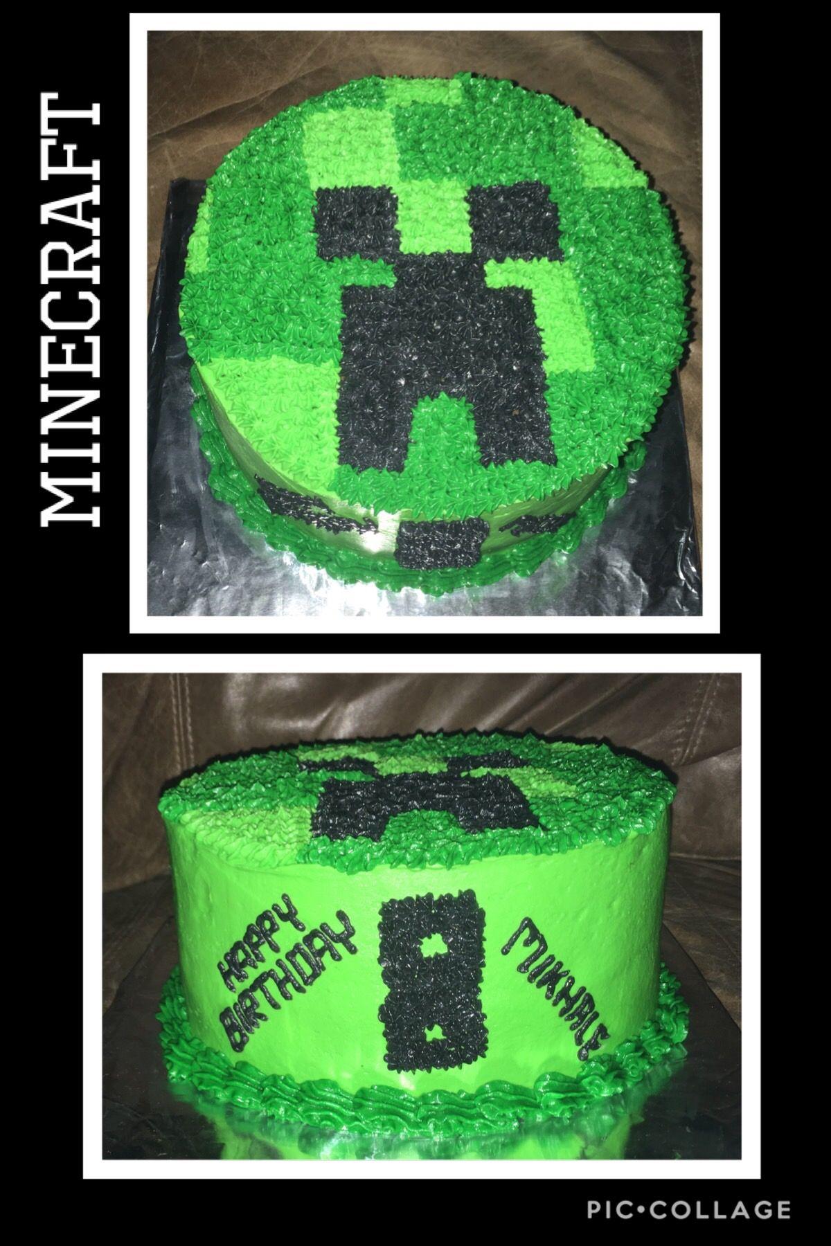 Minecraft birthday cake minecraft birthday cake cake