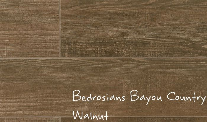 Bedrosians Bayou Country Walnut Porcelain Tile Available In 8 X 24