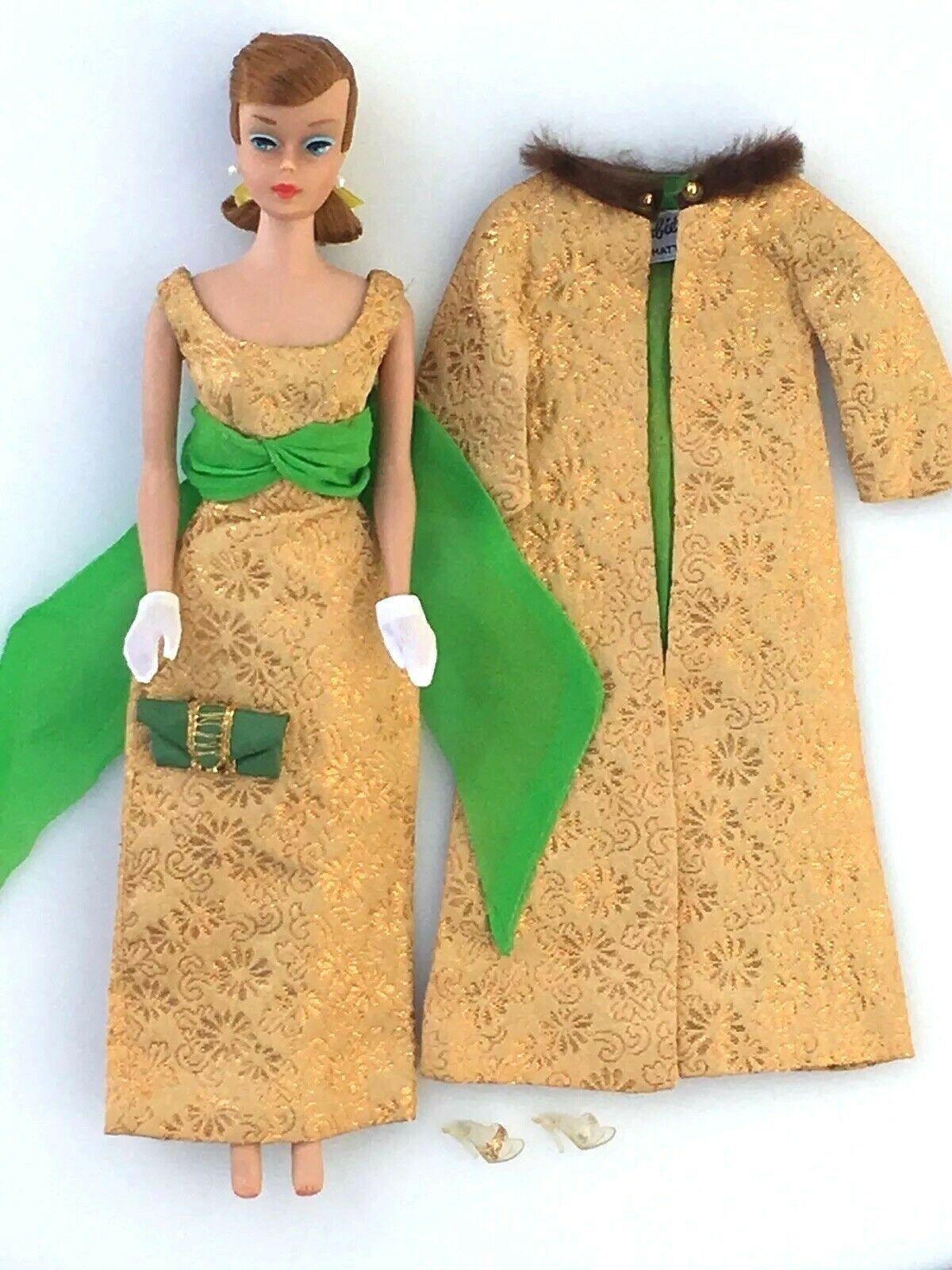 1960s Barbie Clothes Golden Glory By Mattel 1645 Complete No Doll Ebay Barbieclothes Barbiefashion B Barbie Clothes Barbie Fashion Vintage Barbie Dolls