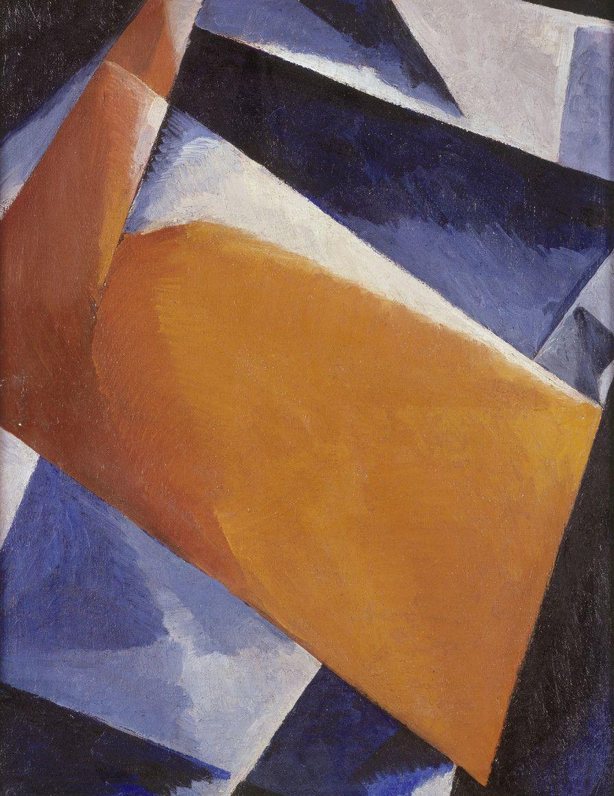 Ljubov Popova, Painterly Architectonic / Malerische Architektonik, 1920. Oil on canvas. Museum Ludwig, Cologne. Source RBA